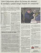 DNA Solutions sur le journal ABC