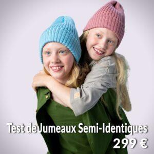 Produit Test de Jumeaux Semi-Identiques